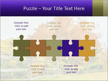 Orange Tree Leaves PowerPoint Template - Slide 41