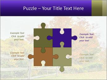 Orange Tree Leaves PowerPoint Template - Slide 43
