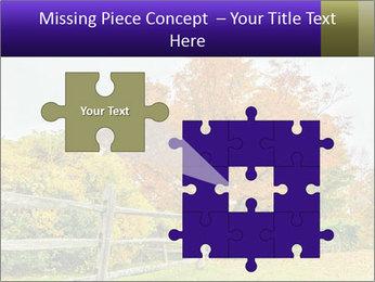 Orange Tree Leaves PowerPoint Template - Slide 45