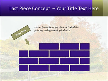 Orange Tree Leaves PowerPoint Template - Slide 46