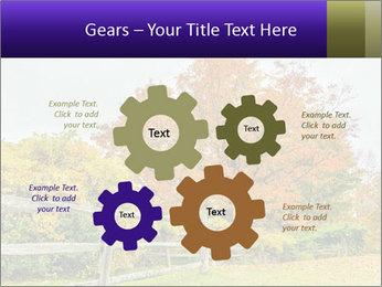 Orange Tree Leaves PowerPoint Template - Slide 47