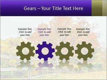 Orange Tree Leaves PowerPoint Template - Slide 48
