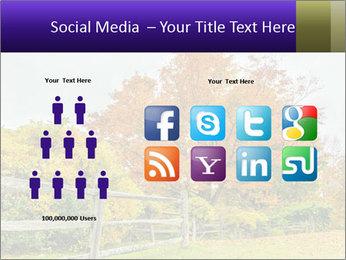 Orange Tree Leaves PowerPoint Template - Slide 5