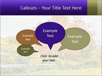 Orange Tree Leaves PowerPoint Template - Slide 73