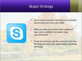Orange Tree Leaves PowerPoint Template - Slide 8