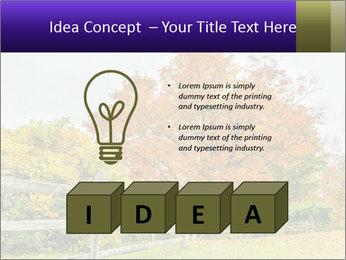 Orange Tree Leaves PowerPoint Template - Slide 80