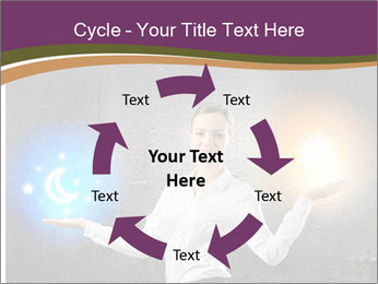 Woman Astrologer PowerPoint Templates - Slide 62