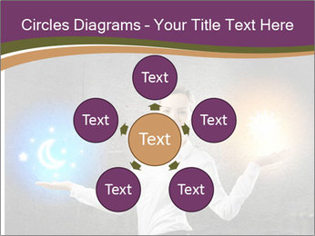 Woman Astrologer PowerPoint Templates - Slide 78