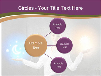 Woman Astrologer PowerPoint Templates - Slide 79