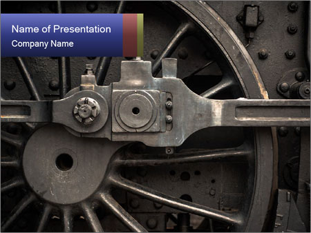 Old Locomotive PowerPoint Templates