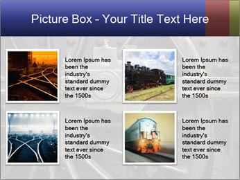 Old Locomotive PowerPoint Templates - Slide 14