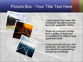 Old Locomotive PowerPoint Templates - Slide 17