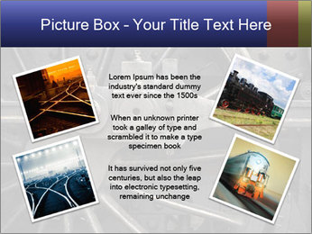 Old Locomotive PowerPoint Templates - Slide 24