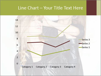 Models Wearing Black Leather Clothes PowerPoint Templates - Slide 54