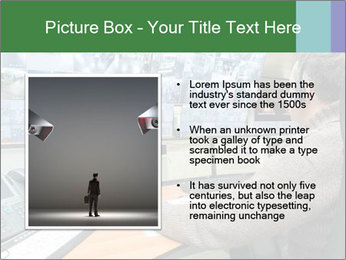 Security Room PowerPoint Templates - Slide 13