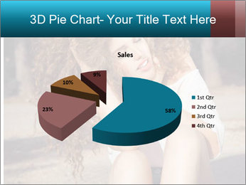 Redhead Woman PowerPoint Templates - Slide 35