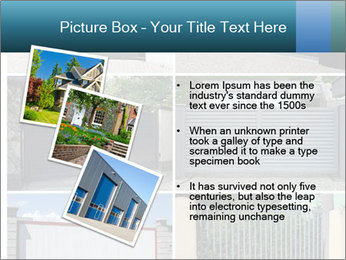 Protective House Gate PowerPoint Template - Slide 17