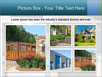 Protective House Gate PowerPoint Template - Slide 19