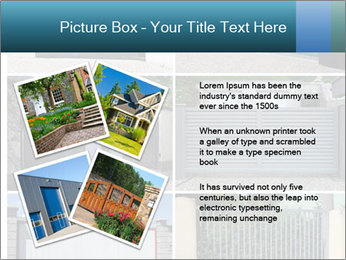 Protective House Gate PowerPoint Template - Slide 23