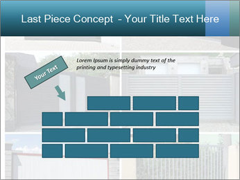 Protective House Gate PowerPoint Template - Slide 46