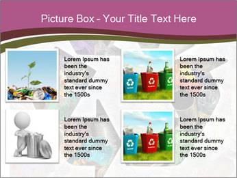 Bright Recycling Sign PowerPoint Templates - Slide 14