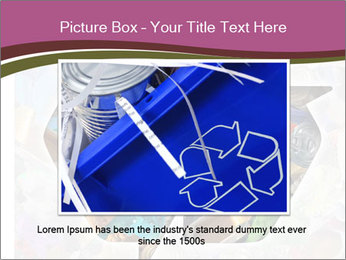 Bright Recycling Sign PowerPoint Template - Slide 16