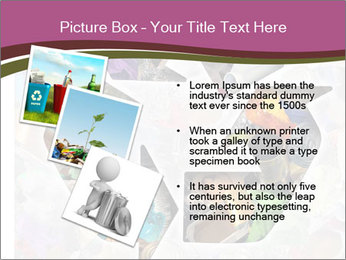 Bright Recycling Sign PowerPoint Templates - Slide 17