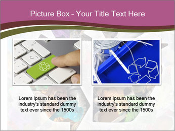 Bright Recycling Sign PowerPoint Template - Slide 18