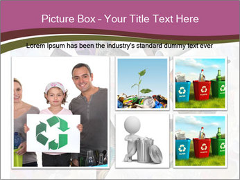 Bright Recycling Sign PowerPoint Template - Slide 19
