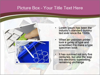 Bright Recycling Sign PowerPoint Templates - Slide 20