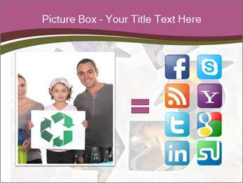 Bright Recycling Sign PowerPoint Templates - Slide 21