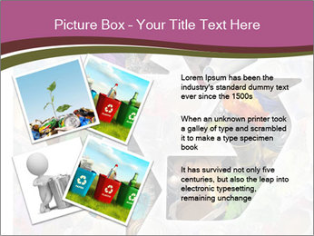 Bright Recycling Sign PowerPoint Templates - Slide 23