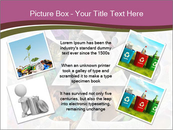 Bright Recycling Sign PowerPoint Template - Slide 24