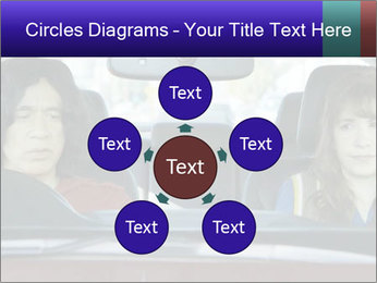 Mother And Daughter In Car PowerPoint Templates - Slide 78