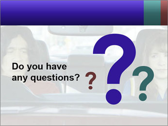 Mother And Daughter In Car PowerPoint Templates - Slide 96