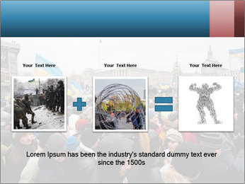 Maidan In Kyiv PowerPoint Template - Slide 22
