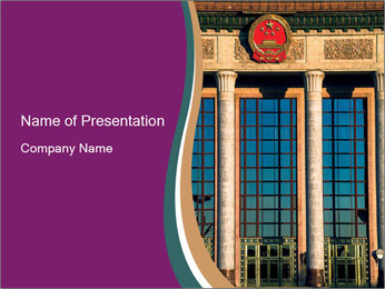 Historic Building PowerPoint Template