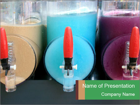 Juice Machine PowerPoint Templates