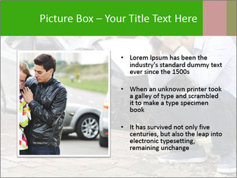 Crashed Auto PowerPoint Templates - Slide 13