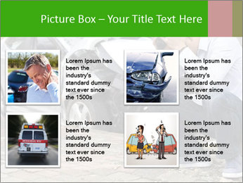 Crashed Auto PowerPoint Templates - Slide 14