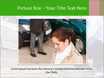 Crashed Auto PowerPoint Templates - Slide 15