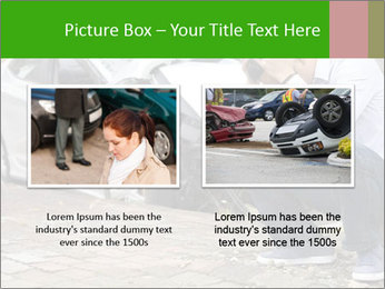 Crashed Auto PowerPoint Templates - Slide 18