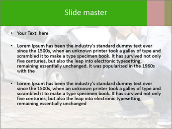 Crashed Auto PowerPoint Templates - Slide 2