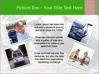 Crashed Auto PowerPoint Templates - Slide 24