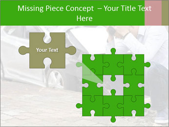 Crashed Auto PowerPoint Templates - Slide 45