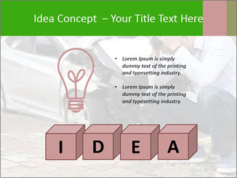 Crashed Auto PowerPoint Templates - Slide 80