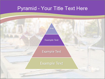 Huge Dinner Table Outside PowerPoint Template - Slide 30