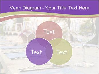 Huge Dinner Table Outside PowerPoint Template - Slide 33
