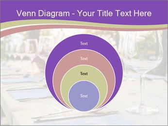 Huge Dinner Table Outside PowerPoint Template - Slide 34