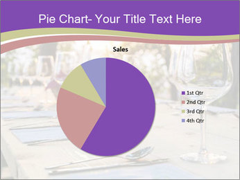 Huge Dinner Table Outside PowerPoint Template - Slide 36